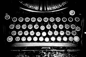 typewriter now write the story by THOR CC BY 2