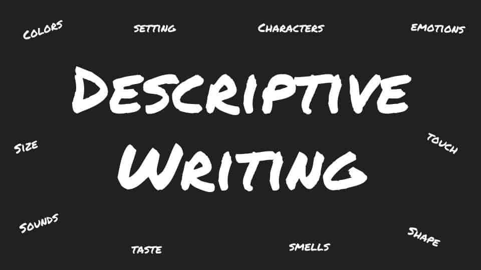 Workshop: Descriptive Writing (Ages 9-12) (VIRTUAL – RSVP REQUIRED) – The  American Library in Paris